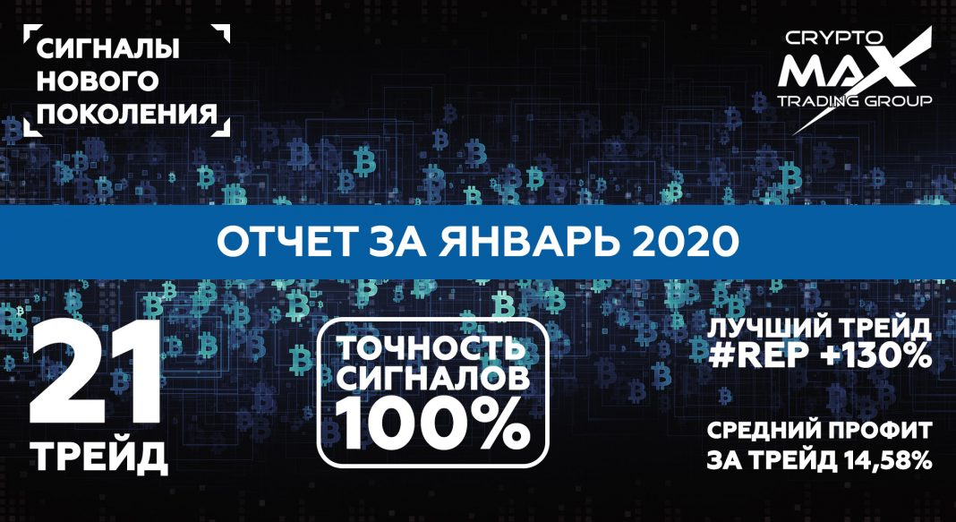 Отчет по сигналам CryptoMax за январь 2020