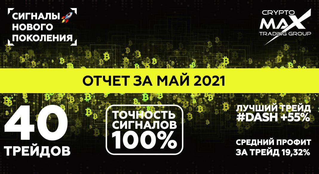 Отчет по сигналам CryptoMax за май 2021